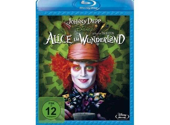 Alice im Wunderland (2010) [Blu-ray] (Dodax,Ebay) für 6,36€ und Alice im Wunderland: Hinter den Spiegeln (Blu-ray) für 7,76€ Dodax,Ebay und Amazon (Prime)