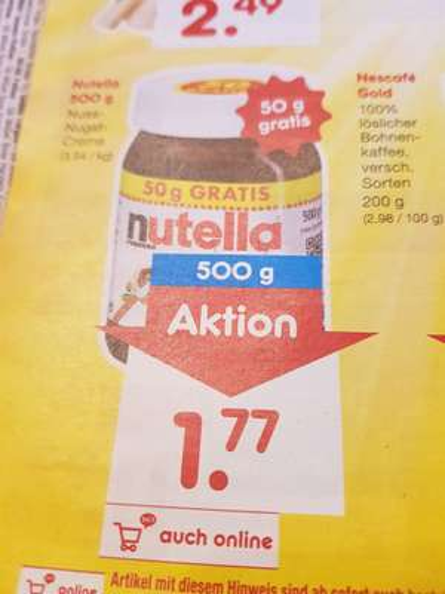 Nutella [Netto Marken Discount] 31.03.18