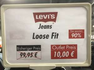 [Alpsee Outlet Immenstadt] - Levi´s Jeans Euro 10,- (90 % reduziert)