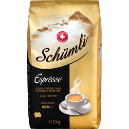 MIGROS: Kaffee Schümli Espresso Bohnen - 1 kg für €9,99 (statt 14,79 = 32% Ersparnis). Auch normaler Schümli oder Schümli mild. Wieder aktuell seit 20. April!