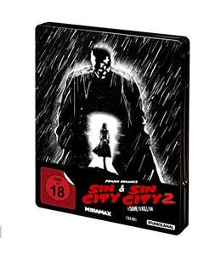 Sin City 1 & 2 - Steelbook [Blu-ray] (Amazon)