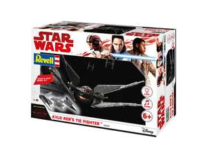 [Amazon Prime] Revell Build & Play - Star Wars Kylo Ren's TIE Fighter - Maßstab 1:70
