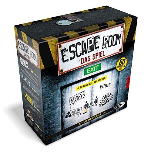 4 Escape Rooms für zuhause inkl. Chrono Decoder von Noris (Amazon Prime)
