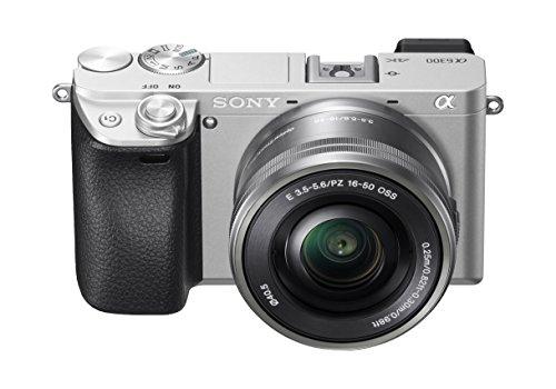 [Amazon] Sony Alpha 6300 Systemkamera (24.2 Megapixel, XGA OLED Sucher, 4K, inklusiv 16-50 mm Objektiv) silber für 699€