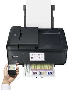 (AMAZON) Canon Pixma TR8550 All-in-One Farbtintenstrahl-Multifunktionsgerät (Drucker, Scanner, Kopierer, Fax, USB, WLAN, LAN, Apple AirPrint) schwarz