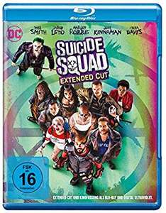 Suicide Squad inkl. Extended Cut [Blu-ray] (Amazon Prime)