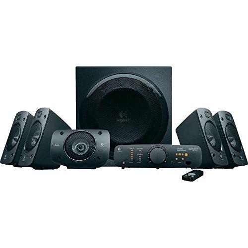 (AMAZON) Logitech Z906 3D Stereo Lautsprecher THX (Dolby 5.1 Surround Sound und 500 Watt) schwarz