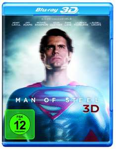 Man of Steel 3D (3D Blu-ray + 2D) für 9,97€ (Amazon Prime)