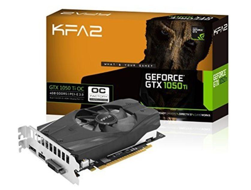 [Amazon.fr] KFA2 GTX 1050 TI OC 4GB - lieferbar