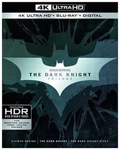 [Amazon] The Dark Knight Trilogy (4K Ultra HD + 2D-Blu-ray)