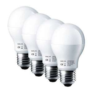 4er Pack KEJA LED-Birnen mit E27 Gewinde 10W