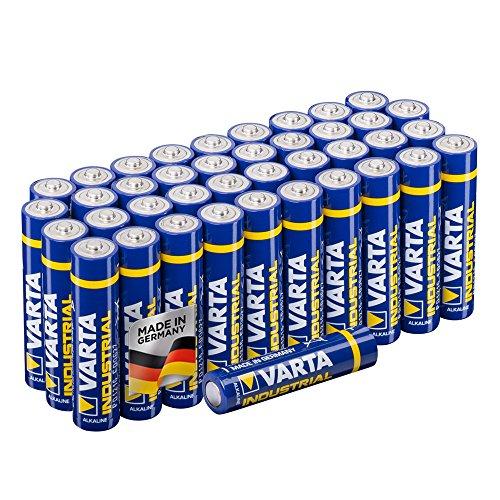 40 Stück Varta Industrial AAA Batterien Amazon Prime
