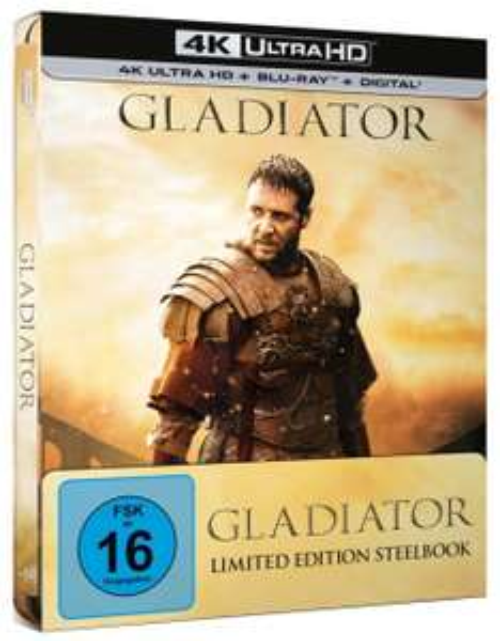 [Vorbestellung 09.05.] Gladiator 4k/UHD im Steelbook