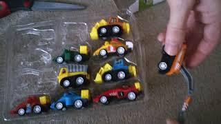 12 kleine Spielzeugautos im Set für 2,45€