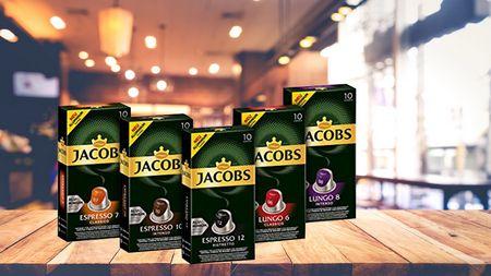 [Marktguru] 10x 0,50€ Cashback auf Jacobs Kaffeekapseln