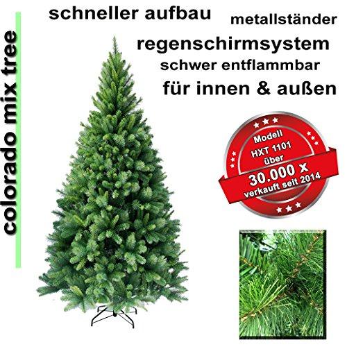 Antizyklisch kaufen- künstliche Weihnachtsbäume bis 46% Rabatt