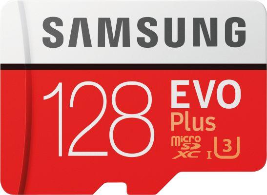 Samsung EVO Plus Micro SDXC 128 GB, UHS-I U3