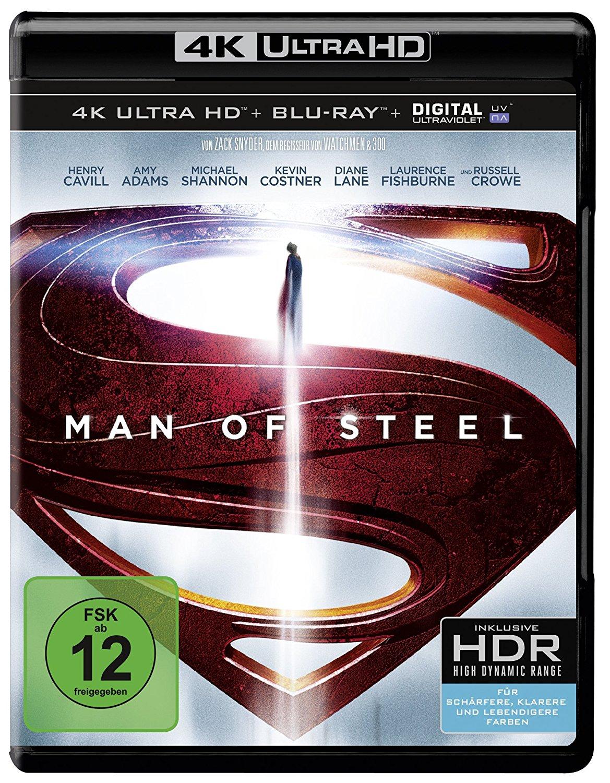[Amazon Prime] Man of Steel (4K Ultra HD + 2D-Blu-ray) (2-Disc Version)