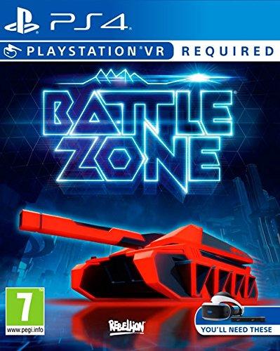 Battlezone VR PS4 von Amazon **Plus Produkt** Spanien/Spiel für 4,74