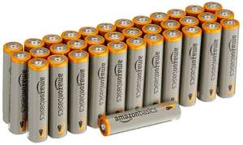 [Amazon] AmazonBasics Performance Batterien Alkali, AAA, 36 Stück (Design kann von Darstellung abweichen) Prime Student zusätzlich -15%