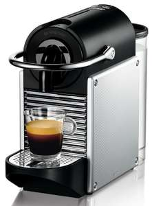 [Amazon Tagesdeal] De'Longhi Nespresso EN 125.S Kapselmaschine (1260 Watt, 0,7 Liter, Pixie Electric) silber