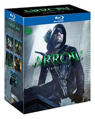 Arrow: Die kompletten Staffeln 1 - 5 (Limited Edition exklusiv bei Amazon.de) [Blu-ray] 49,97 €