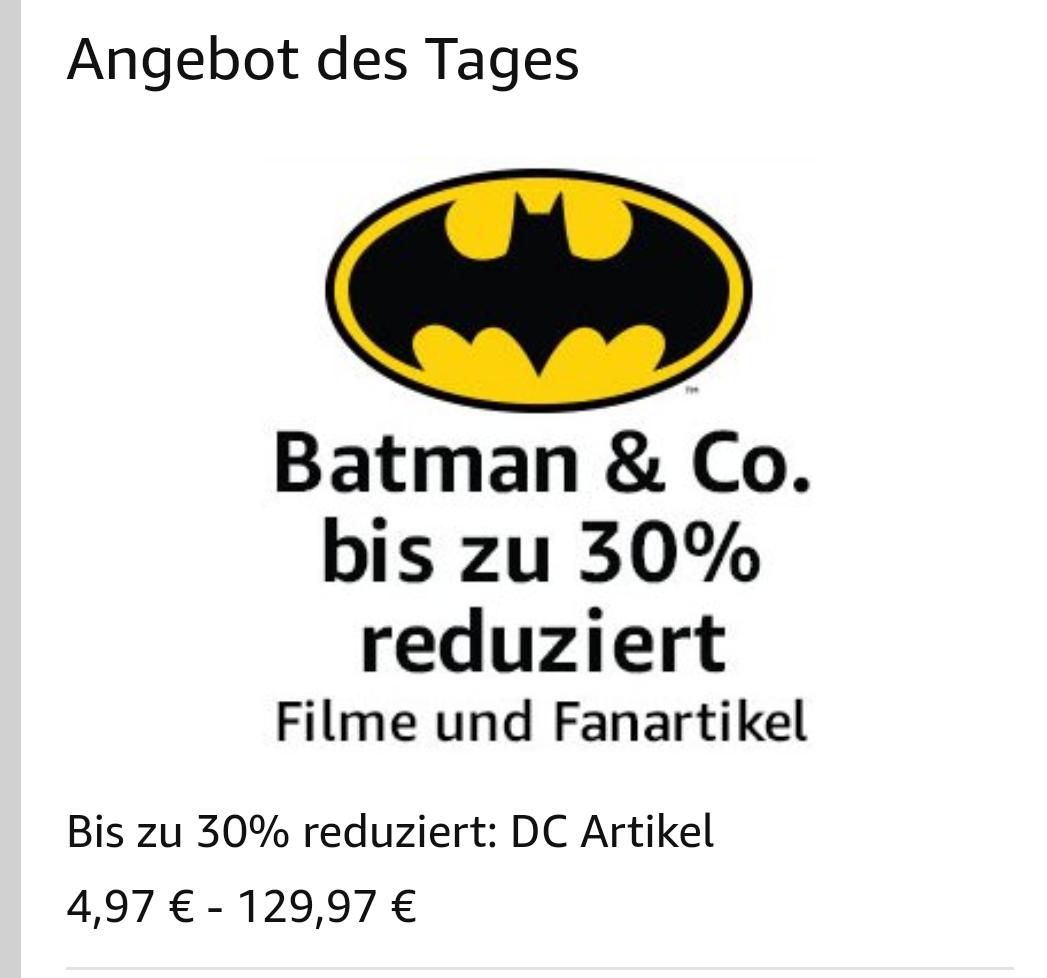 30 % auf DC Merchandise bei Amazon.de