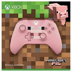Microsoft Xbox Wireless Controller Minecraft Pig ab 35,52€ (Amazon.fr)