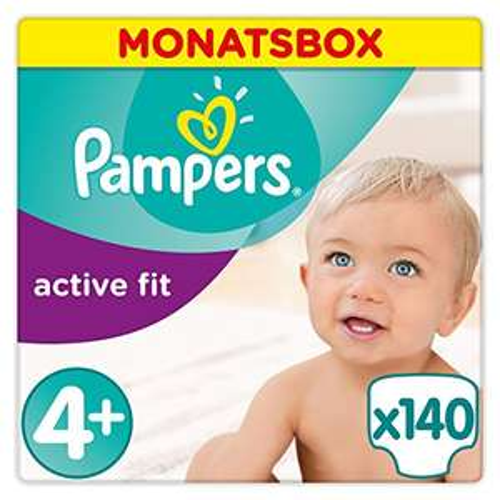 [Amazon] Pampers Premium Protection Active Fit Gr. 4+ für nur €38,99