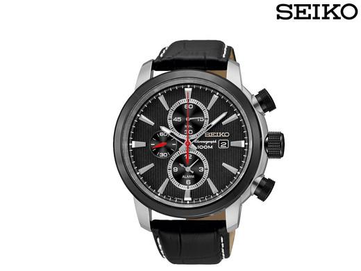 Seiko Uhr Chronograph SNAF47P2