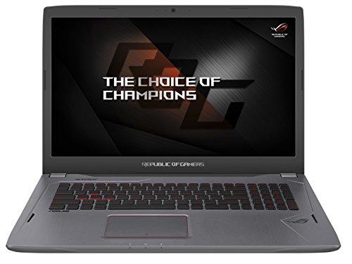"Asus ROG GL702VM-BA323T 17,3"" Gaming Notebook (i7-7700HQ, 120Hz G-Sync, GTX 1060, 16GB RAM, 256GB SSD, 1TB HDD, Windows 10)"