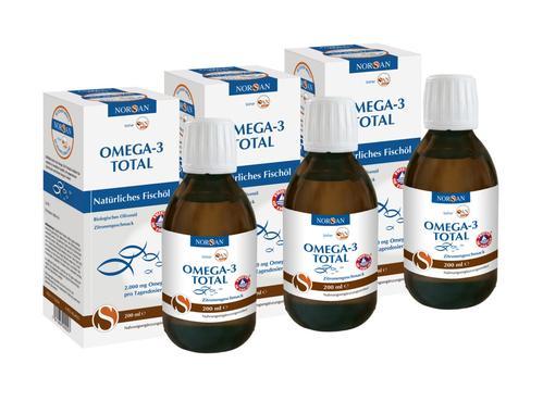 3x Norsan Omega-3 Fisch - Öl für 47,92 pro Flasche knapp 16€ (nächster Preis 22,90 Prime)