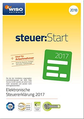 [amazon prime] WISO steuer:Start 2018 (für Steuerjahr 2017) - Disc in frustfreier Verpackung im Blitzangebot bis ca. 18 Uhr