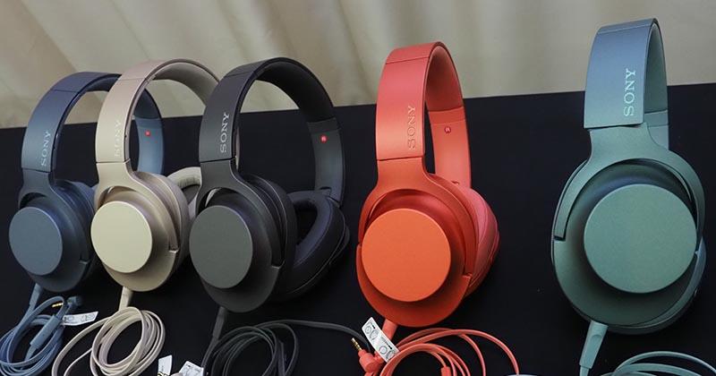 Sony WH-H900N Noise Cancelling Over-Ear Kopfhörer in allen Farben