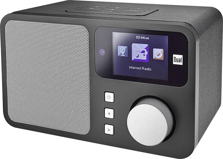 Dual IR 4 Internetradio mit  6,1 cm Farbdisplay (WLAN, DLNA / UPnP, AUX)