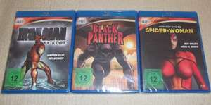 [Euroshop] Marvel Knights Animation (Iron Man, Black Panther) Blu-rays für je 1€