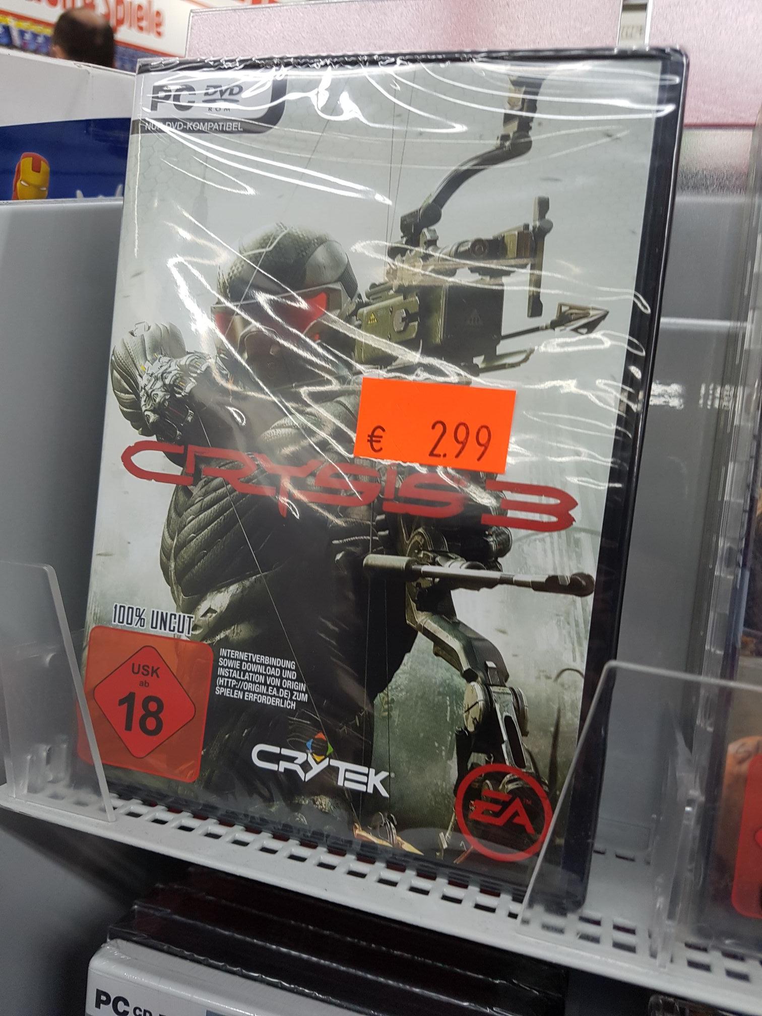 [Lokal Mediamarkt Köln Arcaden] Crysis 3 PC