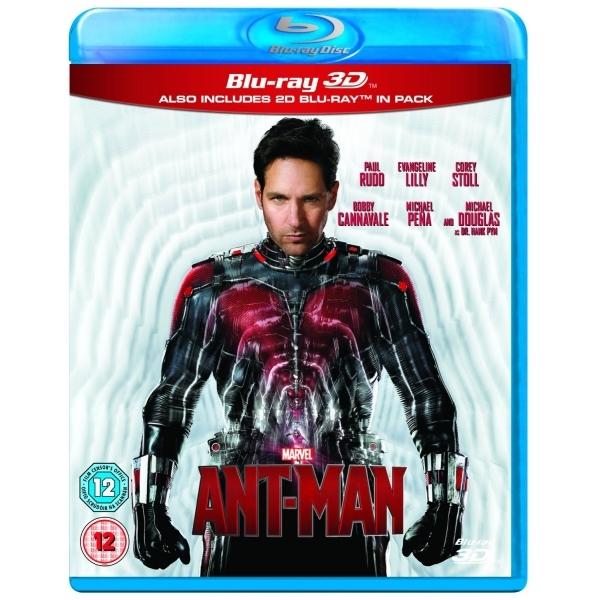 Ant-Man (Blu-ray 3D + Blu-ray) für 9,49€ (Shop4de)