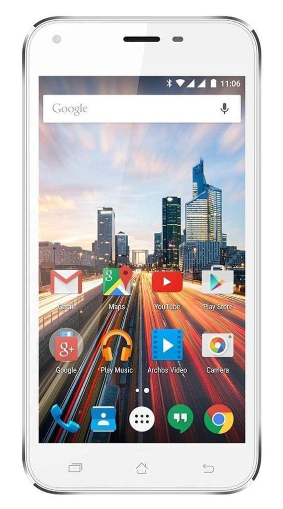 "Archos 50 Helium + Plus 4G LTE Dual-SIM Smartphone (5"" HD-Display, 1GB RAM, 8GB Speicher, 13 + 5 MP Kameras) *wie neu*"