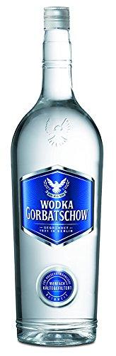 ( Amazon ) Wodka Gorbatschow 37,5 % vol (1 x 3 l) Magnum Flasche für den kleinen Durst