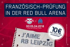 RB Leipzig vs. Olympique Marseille Studententickets