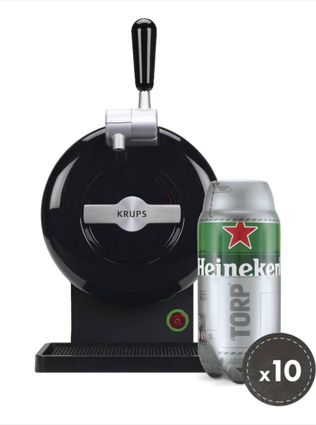 The Sub in verschiedenen Farben + 10 Torps(20 Liter) Heineken MHD:30/04/2018