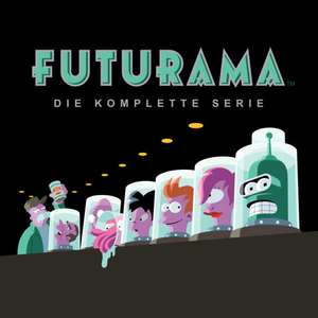 Futurama komplette Serie in iTunes (10 Staffeln, 128 Folgen!)