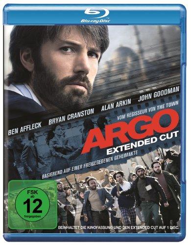 Argo Extended Cut (Blu-ray) für 4,94€ (Amazon Prime & Dodax)
