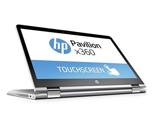 [Amazon] HP Pavilion x360 14-ba017ng 35,6 cm (14 Zoll) Convertible Laptop (Intel Pentium 4415U, 256 GB SSD, 8 GB RAM, Intel HD-Grafikkarte 610, Windows 10 Home 64) silber