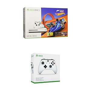 Xbox One S 500GB Konsole + Forza Horizon 3 + Hot Wheels DLC + Wireless Controller Weiß 199€ oder 1TB für 229€