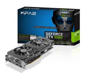 [Amazon.fr] KFA² GeForce GTX 1080 EXOC, 8GB GDDR5X, DVI, HDMI, 3x DisplayPort