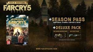 Far Cry 5 Gold Edition PC (durch 16% Rabattcode)
