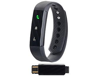 Fitness-Armband /BT 4.0 , Schlaferkennung, Nachrichten-Erinnerung, IP67/