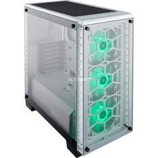 [alternate] Corsair Crystal 460X RGB PC-Gehäuse (Kompakt Mid-Tower ATX, mit gehärtetem Glas und Lüftern) weiß für 125,89€ bzw. 120,89€ (mit 5€ Newsletter GS)